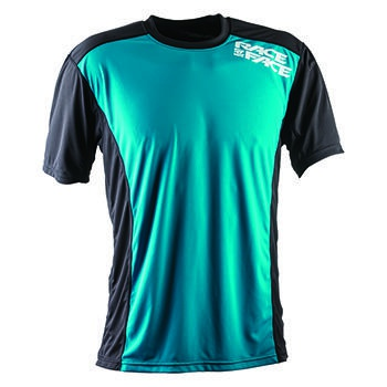 RaceFace Trigger Jersey SS Turquoise