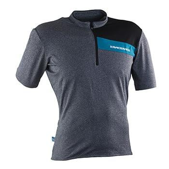 RaceFace Podium Jersey SS Charcoal Turquoise
