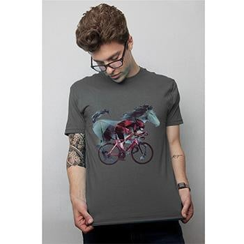 CLOCKWORK GEARS HORSEPOWER MENS GREY XL
