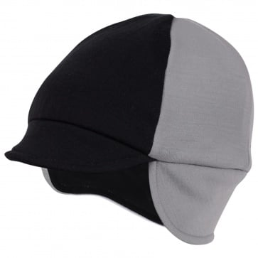 PACE REVERSIBLE WOOL HAT SILVER/BLACK