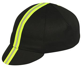 PACE TRADITIONAL BLACK / NEON YELLOW REFLECTIVE CAP
