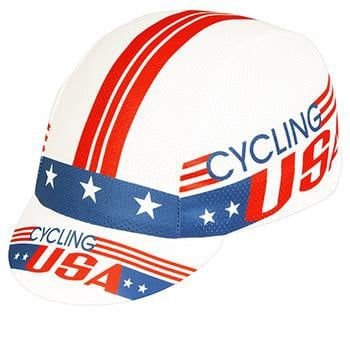 PACE COOLMAX CYCLING USA CAP