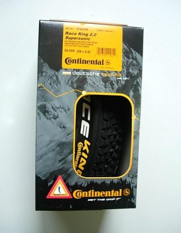 Continental Race King Supersonic 26x2.0 bike tire tyre