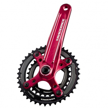 RACE FACE TURBINE 22/36T 10-SPEED 175 RED