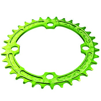 RACE FACE SINGLE RING 104mm 38T 8-11-SPEED GREEN