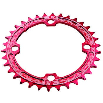 RACE FACE SINGLE RING 104mm 38T 8-11-SPEED RED