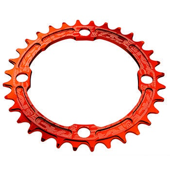 RACE FACE SINGLE RING 104mm 34T 8-11-SPEED ORANGE