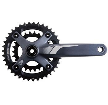 SRAM X.7 GXP 2x10-SPEED 175 GREY 39/26T w/ BB