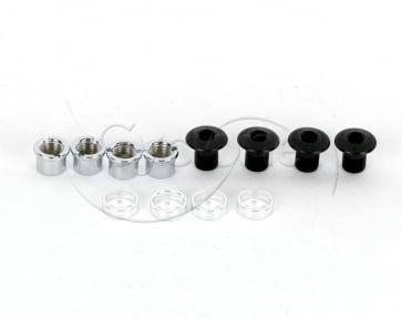 SHIMANO FC-M800 SAINT CHAINRING BOLT & NUT x4