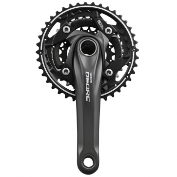 SHIMANO FC-M612 DEORE 175 40/30/22T 10-SPEED w/ BB BLACK