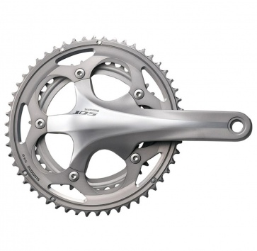 SHIMANO FC-5750 105 175 50/34T 10-SPEED SILVER w/o BB
