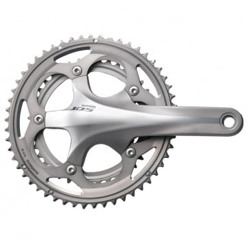 SHIMANO FC-5750 105 172.5 50/34T 10-SPEED SILVER w/o BB
