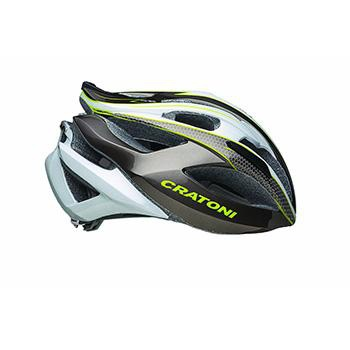 Cratoni C Bolt Road Helmet Anthracite White Lime