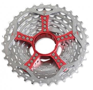 SRAM PG990 11-32T 9-SPEED CASSETTE RED