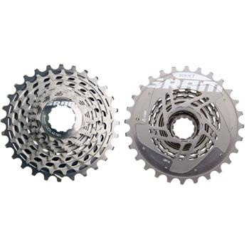 SRAM XG1090 11-26T X-DOME RED 10-SPEED CASSETTE