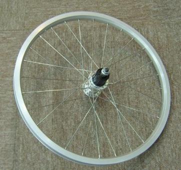 Dahon Repair Part D series Front Wheel Silver