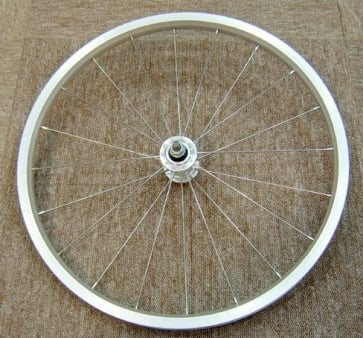 Dahon Repair Part D series Front Wheel Silver