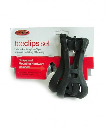Delta Toe Clips set for bike bicycle pedals