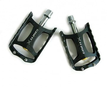 DHsports AL-201 XC Flat Pedals Black Sealed Bearing