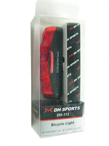 DHsports DH-112 5 LEDs Rear Safety Lamp Light