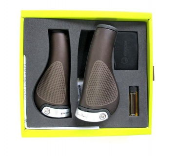 Ergon GP1 Bioleather Bicycle Grips