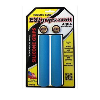 ESI MTB Racers Edge Silicone Grip Aqua