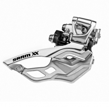 SRAM XX FRONT DERAILLEUR 2x10 HI-CLAMP BOTTOM PULL 31.8