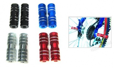 """BICYCLE HERO BIKE CYCLING BMX FOOT PEGS PEDALS SIZE 3/8"""""""