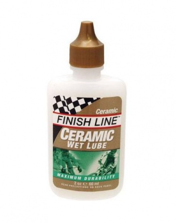 Finishline Ceramic Wet Lube 60ml bicycle