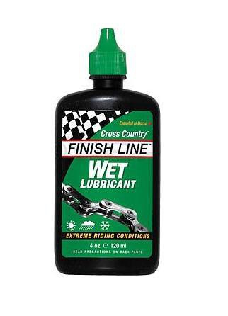 Finishline Wet Lubricant Lube 120ml bicycle oil