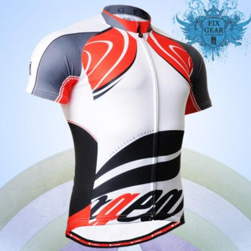 Fixgear Bicycle Cycling Mens Jersey Short Sleeves CS3602