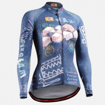 Fixgear CS-W1501 Womens Cycling Jersey Long Sleeves