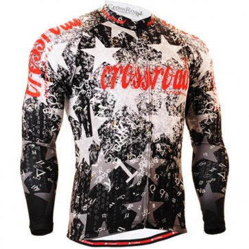Fixgear Mens Bicycle Jersey Cycling Long Sleeves CS2401