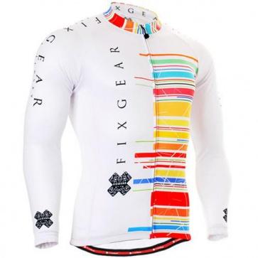 Fixgear Mens Bicycle Jersey Cycling Long Sleeves CS3301