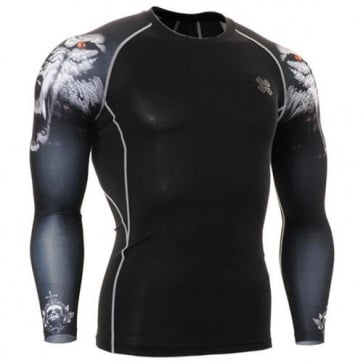 Fixgear Printed BaseLayer Compression Skin Top Tights CPD-B18