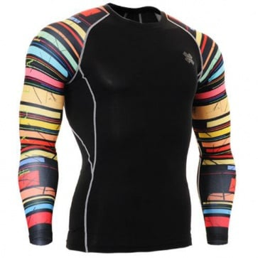 Fixgear Printed BaseLayer Compression Skin Top Tights CPD-B33-UG