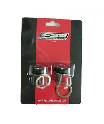 FSA M8 crank bolts set square taper