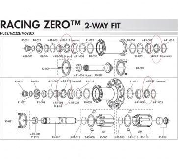 Fulcrum 4-RS-111 Ceramic Bearing