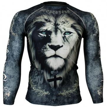 Btoperform Aslan Full Graphic Compression Long Sleeve Shirts FX-130