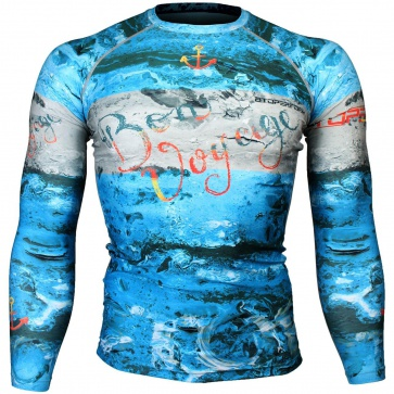Btoperform Bon Voyage Full Graphic Compression Long Sleeve Shirts FX-140