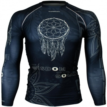 Btoperform Dreamcatcher Full Graphic Compression Long Sleeve Shirts FX-144K