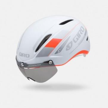 Giro Air Attack Shield Helmet Fluorescent Orange White