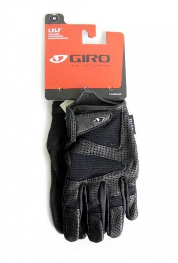 Giro LX Long Finger bicycle cycling gloves black