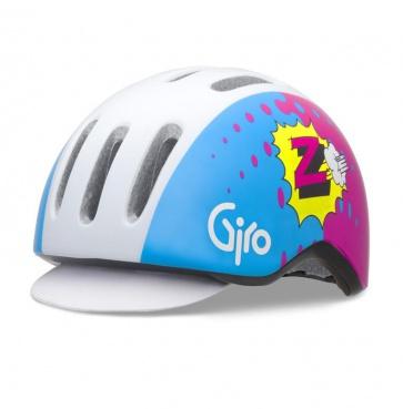 Giro Reverb Urban Cycling Helmet Blue Pink Z Team