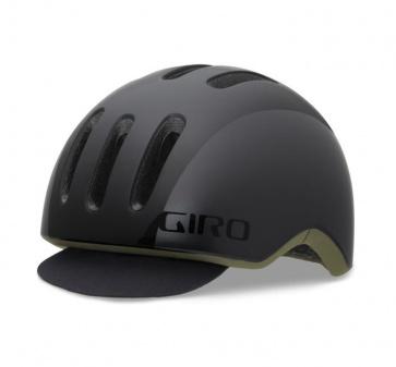 Giro Reverb Urban Cycling Helmet Matt Black Gloss Fabric