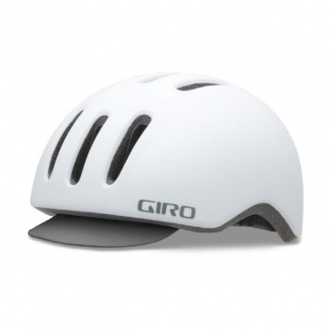 Giro Reverb Urban Cycling Helmet Matt White Grid