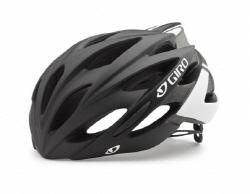 Giro Savant Road Helmet Asian Fit Mat Black White