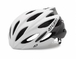 Giro Savant Road Helmet Asian Fit Mat White Black