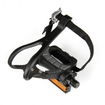 VP Components Strap Pedals VP-399T Black