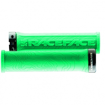RACE FACE HALF NELSON SINGLE LOCK ON GRIP TURQUOISE
